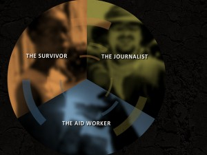 "Das Newsgame ""Inside the Haiti Earthquake"" (Screenshot)"